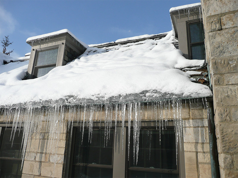 Will water damage from melting snow be covered by my insurance?